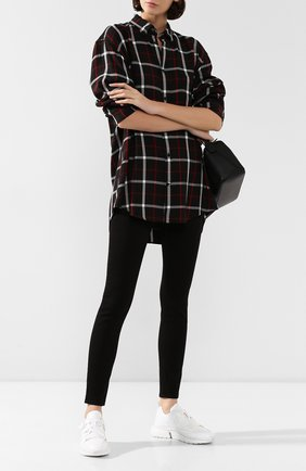 Женские джинсы RAG&BONE черного цвета, арт. WDD19F266401SB   Фото 2