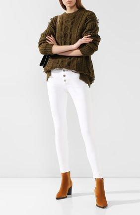 Женские джинсы RAG&BONE белого цвета, арт. W2628I253WHT | Фото 2