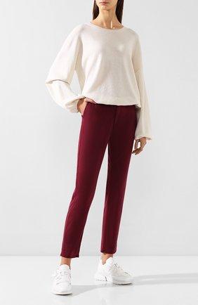 Женские брюки AG бордового цвета, арт. SBW1613/GBRY | Фото 2