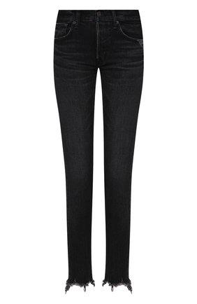 Женские джинсы MOUSSY черного цвета, арт. 025CAC11-2050 | Фото 1