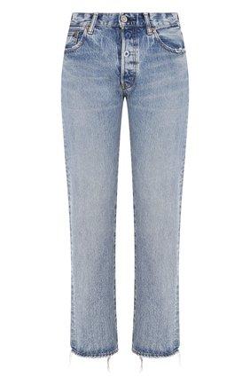 Женские джинсы MOUSSY голубого цвета, арт. 025CAC11-2300 | Фото 1