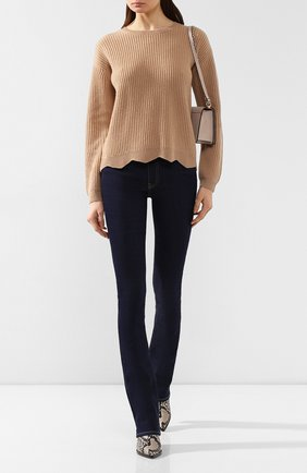 Женские джинсы 3X1 синего цвета, арт. WP0120986/DILL0N | Фото 2