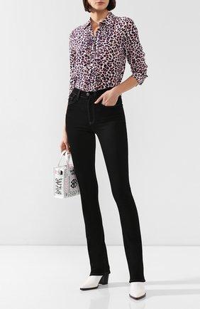 Женские джинсы 3X1 черного цвета, арт. WP0120191/BLACK B01 | Фото 2