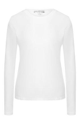 Женская хлопковый лонгслив JAMES PERSE белого цвета, арт. WLJ3113 | Фото 1