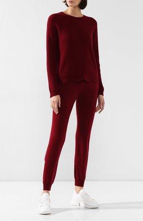 Женский кашемировый свитер FTC бордового цвета, арт. 770-0170 | Фото 2