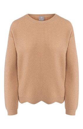 Женский кашемировый свитер FTC коричневого цвета, арт. 770-0170 | Фото 1