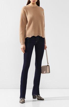 Женский кашемировый свитер FTC коричневого цвета, арт. 770-0170 | Фото 2