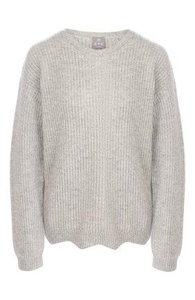 Женский кашемировый свитер FTC серого цвета, арт. 770-0170 | Фото 1