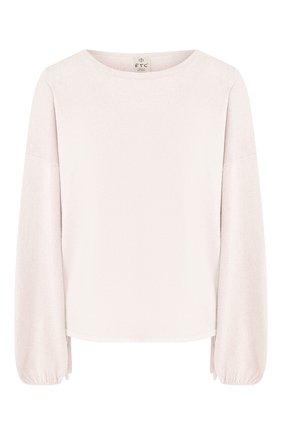 Женский кашемировый свитер FTC белого цвета, арт. 776-0050 | Фото 1