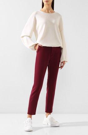 Женский кашемировый свитер FTC белого цвета, арт. 776-0050 | Фото 2