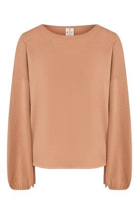 Женский кашемировый свитер FTC коричневого цвета, арт. 776-0050 | Фото 1