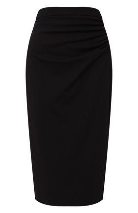 Женская юбка ESCADA темно-синего цвета, арт. 5032458 | Фото 1