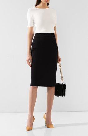 Женская юбка ESCADA темно-синего цвета, арт. 5032458 | Фото 2