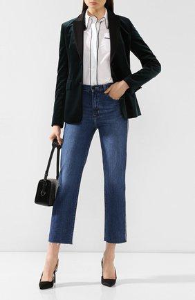 Женские джинсы J BRAND синего цвета, арт. JB002483 | Фото 2