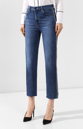 Женские джинсы J BRAND синего цвета, арт. JB002483 | Фото 3