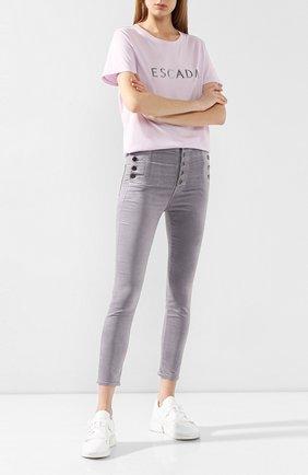 Женские джинсы J BRAND серого цвета, арт. JB002482   Фото 2