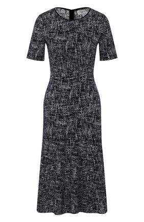 Платье из смеси шерсти и вискозы   Фото №1
