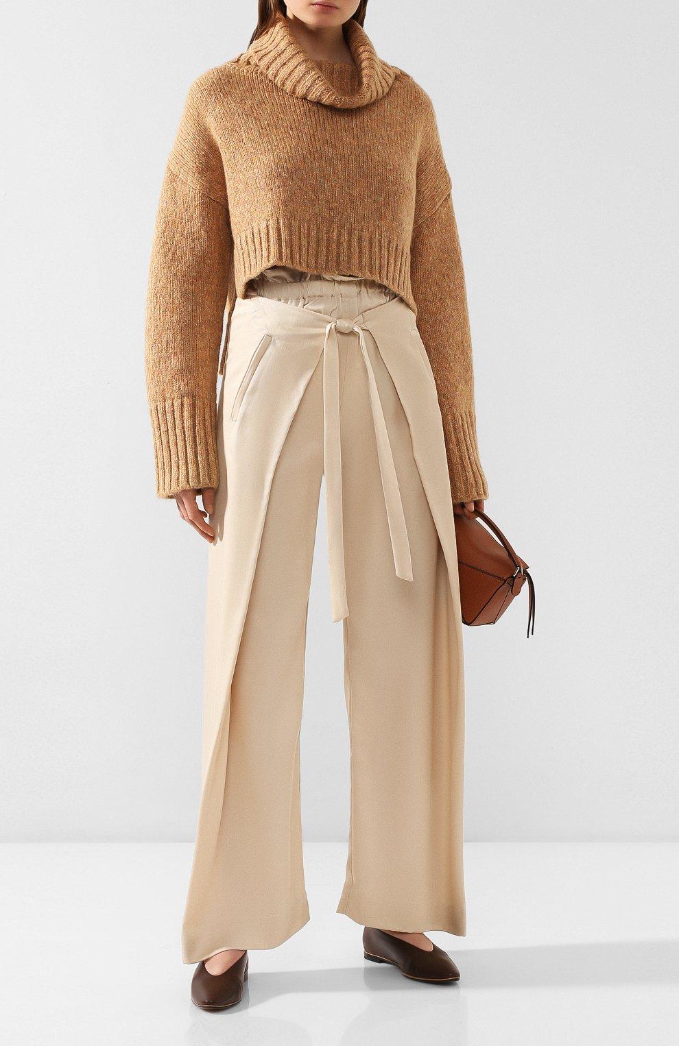 Женский свитер CULT GAIA золотого цвета, арт. 93002Z04 G0L | Фото 2