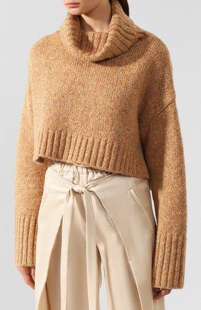 Женский свитер CULT GAIA золотого цвета, арт. 93002Z04 G0L | Фото 3