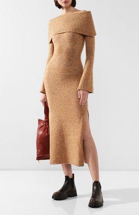 Женское платье CULT GAIA золотого цвета, арт. 90001Z04 G0L | Фото 2