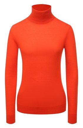 Женская кашемировая водолазка RALPH LAUREN оранжевого цвета, арт. 290615195 | Фото 1