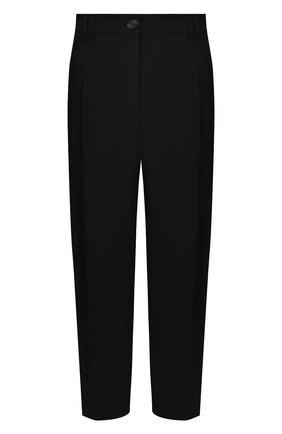 Женские хлопковые брюки ESCADA черного цвета, арт. 5031948 | Фото 1