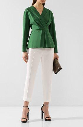 Женские брюки ESCADA белого цвета, арт. 5029253 | Фото 2