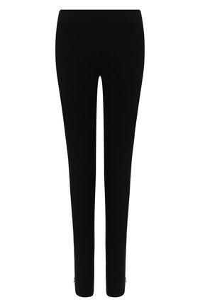 Женские леггинсы Y-3 черного цвета, арт. FJ0296/W | Фото 1