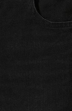 Мужские джинсы BALENCIAGA черного цвета, арт. 600382/TDW16 | Фото 5