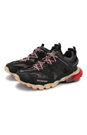 Мужские комбинированные кроссовки track BALENCIAGA черного цвета, арт. 542023/W1GB6 | Фото 1