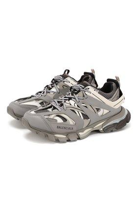 Мужские комбинированные кроссовки track BALENCIAGA серого цвета, арт. 542023/W1GB7 | Фото 1