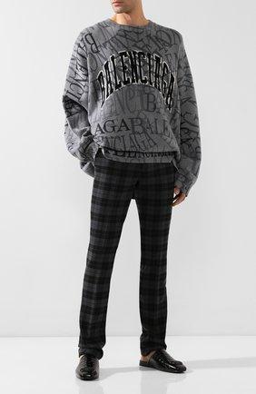 Мужские кожаные сабо cosy BALENCIAGA черного цвета, арт. 601190/WA9D4 | Фото 2