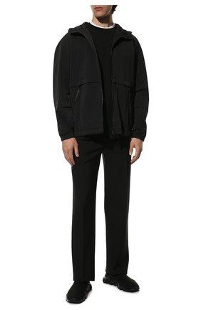 Мужские текстильные кроссовки speed BALENCIAGA черного цвета, арт. 605972/W05GE | Фото 2