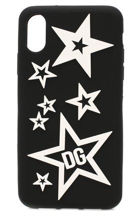 Мужской чехол для iphone xr DOLCE & GABBANA черно-белого цвета, арт. BP2514/AJ612 | Фото 1