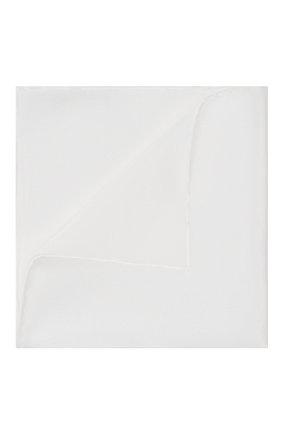 Мужской шелковый платок BRIONI белого цвета, арт. 071000/PZ411 | Фото 1
