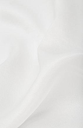 Мужской шелковый платок BRIONI белого цвета, арт. 071000/PZ411 | Фото 2