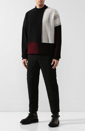 Мужские кожаные сапоги BOTTEGA VENETA черного цвета, арт. 578286/VIFH0 | Фото 2