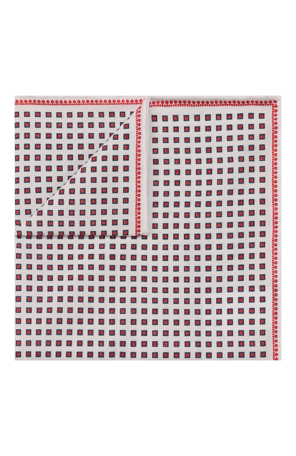 Мужской хлопковый платок BRUNELLO CUCINELLI разноцветного цвета, арт. MQ8400091 | Фото 1