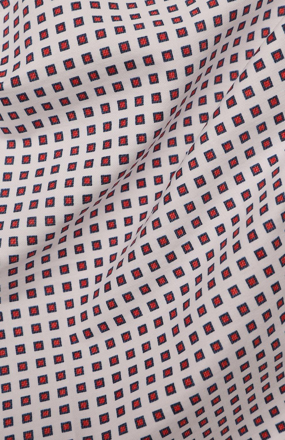 Мужской хлопковый платок BRUNELLO CUCINELLI разноцветного цвета, арт. MQ8400091 | Фото 2