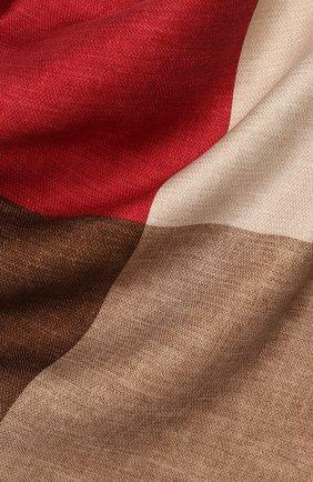 Мужской шелковый платок BRUNELLO CUCINELLI коричневого цвета, арт. MQ8410091 | Фото 2