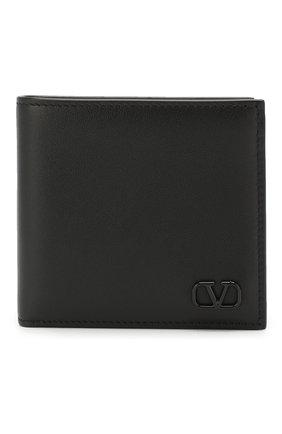 Мужской кожаное портмоне valentino garavani VALENTINO черного цвета, арт. TY2P0445/ZQU | Фото 1