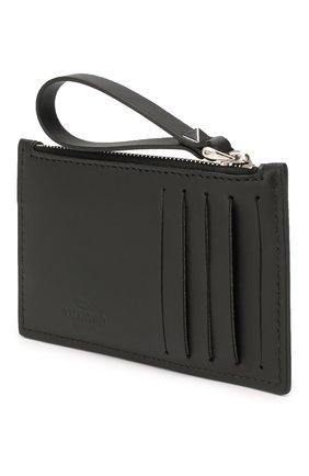 Кожаный футляр для кредитных карт Valentino Garavani | Фото №2