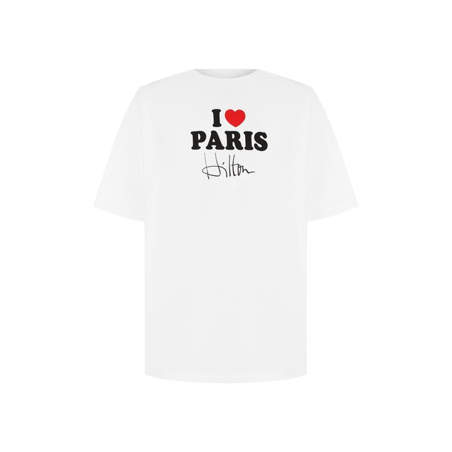 Хлопковая футболка Vetements — Хлопковая футболка
