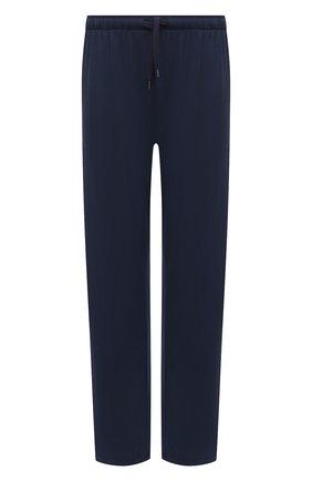 Мужские домашние брюки DEREK ROSE синего цвета, арт. 3558-BASE001 | Фото 1