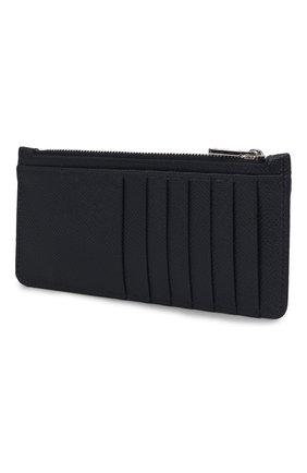 Мужской кожаный футляр для кредитных карт DOLCE & GABBANA синего цвета, арт. BP2172/AZ602 | Фото 2
