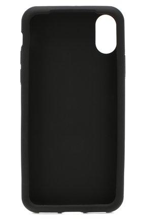Мужской чехол для iphone x DOLCE & GABBANA черно-белого цвета, арт. BP2418/AJ980 | Фото 2