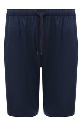 Мужские домашние шорты DEREK ROSE синего цвета, арт. 3559-BASE001 | Фото 1