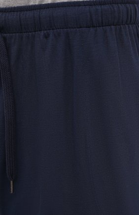 Мужские домашние шорты DEREK ROSE синего цвета, арт. 3559-BASE001 | Фото 5 (Кросс-КТ: домашняя одежда; Материал внешний: Синтетический материал)