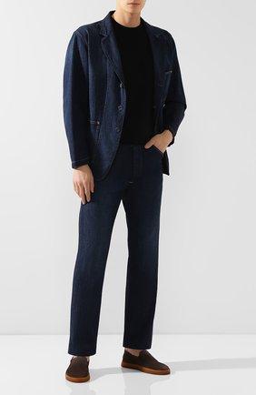 Мужские джинсы RRL синего цвета, арт. 782751091 | Фото 2