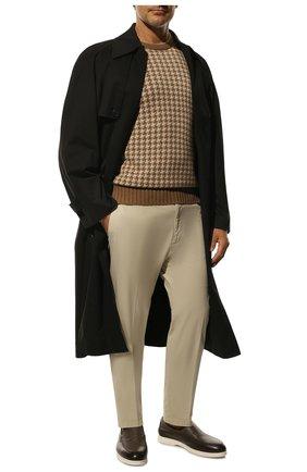 Мужской кашемировый свитер LORO PIANA бежевого цвета, арт. FAI8224 | Фото 2